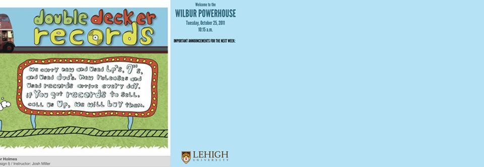 Lehigh Kiosk – Wilbur Powerhouse